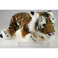 Plyš Tygr hnědý 70 cm