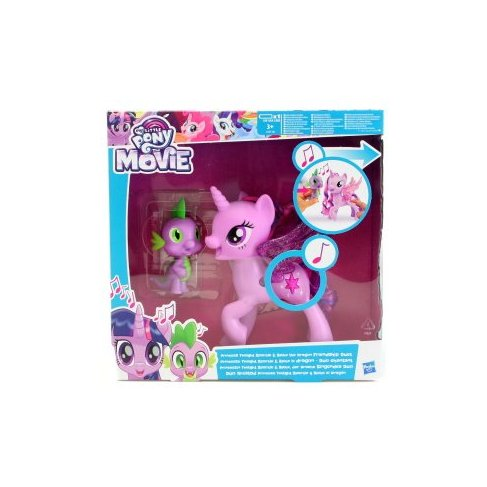 My Little Pony Zpívající Twilight Sparkle+Spikem