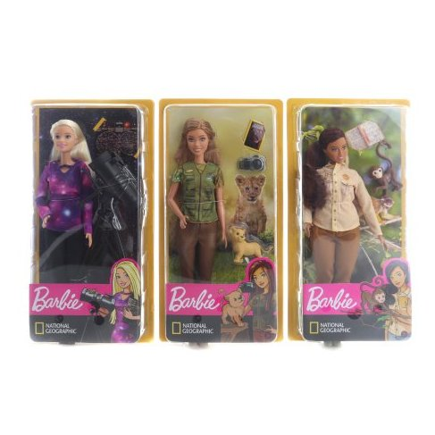 Barbie Povolání National Gegraphic panenka GDM44