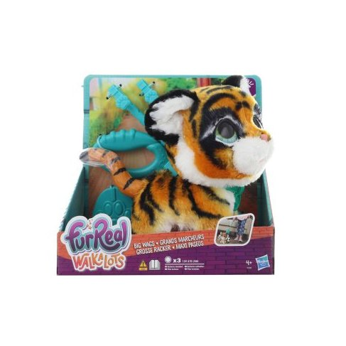 FurReal Friends Walkalots velký tygr TV 1.12.-31.12.2019