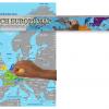 Stírací mapa Evropy