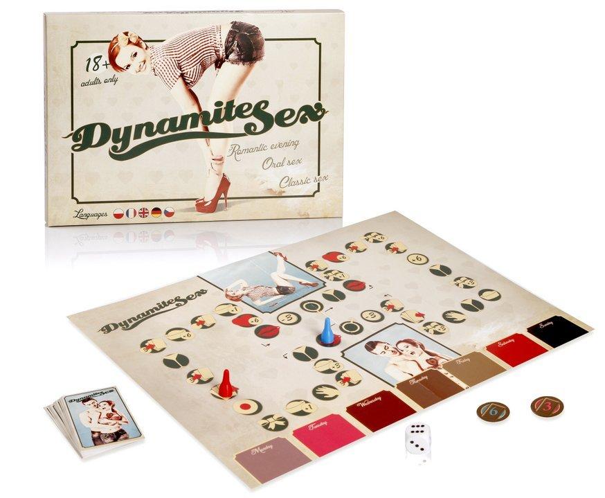 Dynamite sex erotická hra