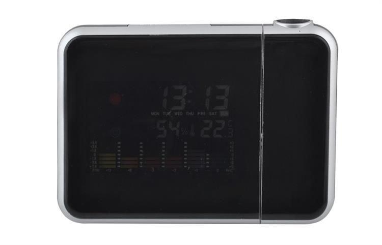 Meteostanice s projektorem času