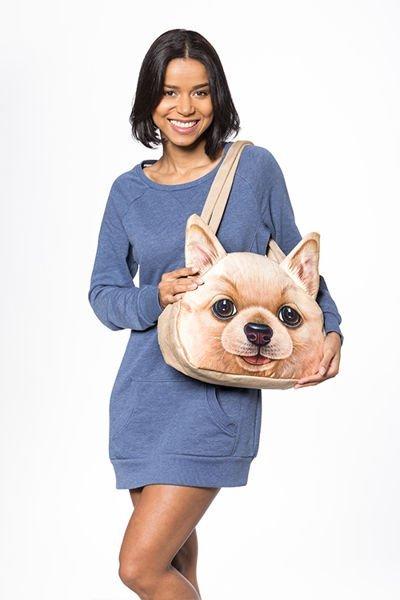 3D kabelka pes - Pes zrzavý