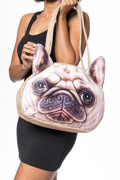 3D kabelka pes - Mops