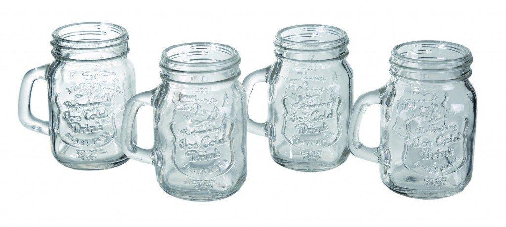 Panáky zavařovací sklenice