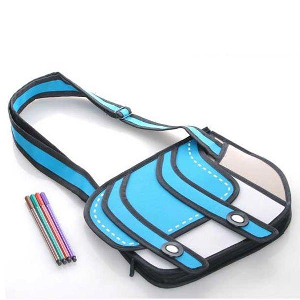 3D kreslená kabelka