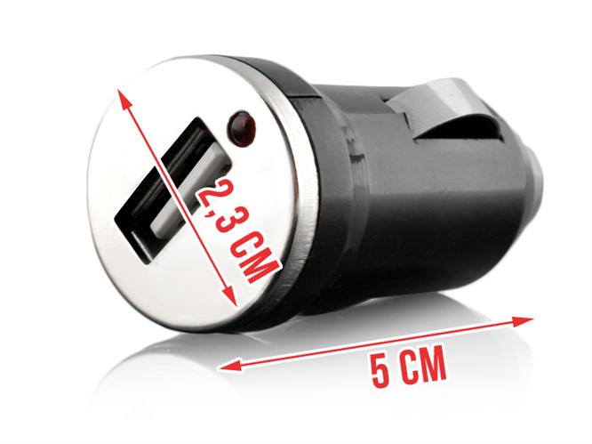 USB nabíječka do auta - 1 výstup