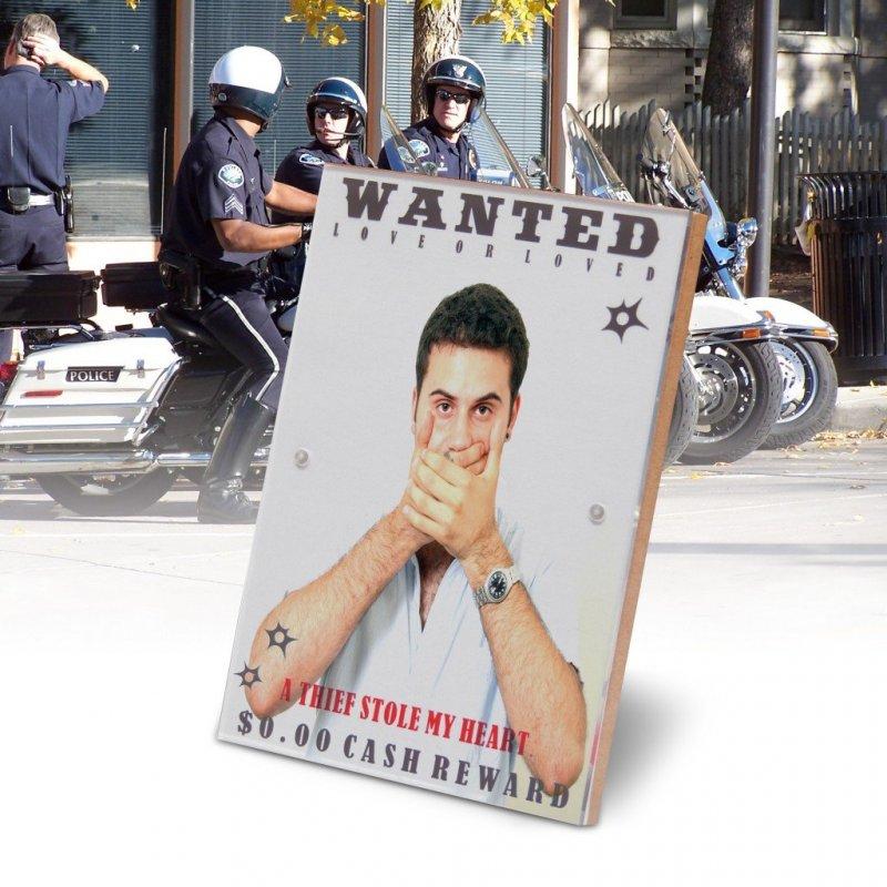 Wanted hledaný fotorámeček