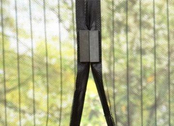 Samozavírací síť proti hmyzu 210 cm
