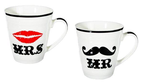 Set hrnků Mr. and Mrs.