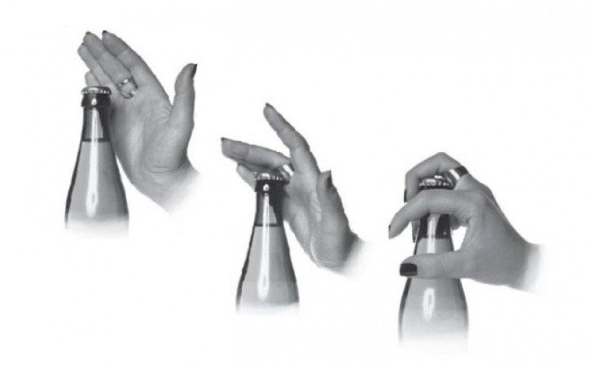 Prstenový otevírák lahví