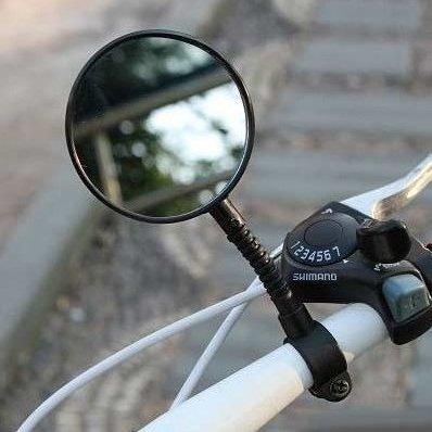 Ohebné zrcátko na kolo