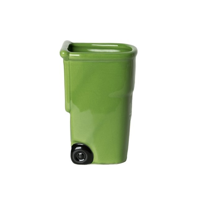 Zelený hrnek - koš pro milovníky recyklace