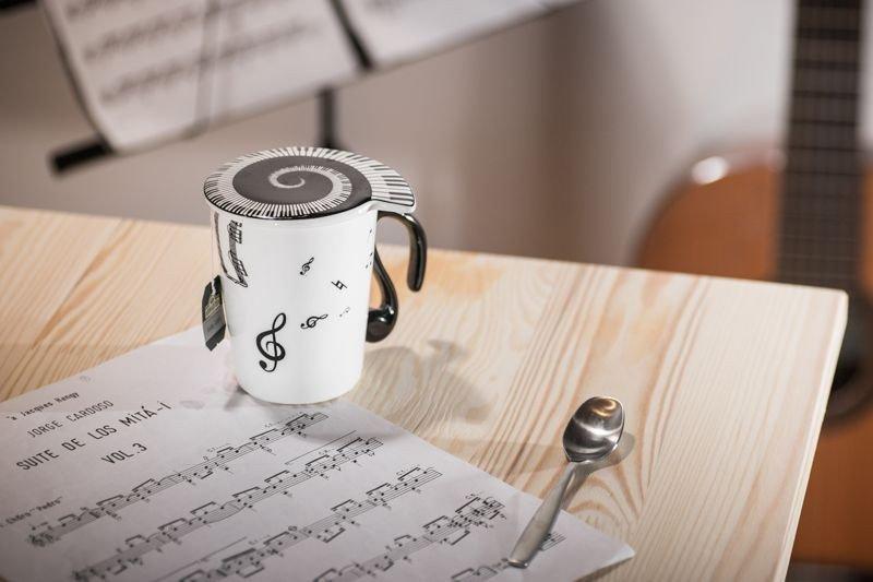 Hudební hrnek - Noty