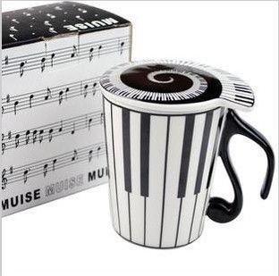 Hudební hrnek - Klávesy