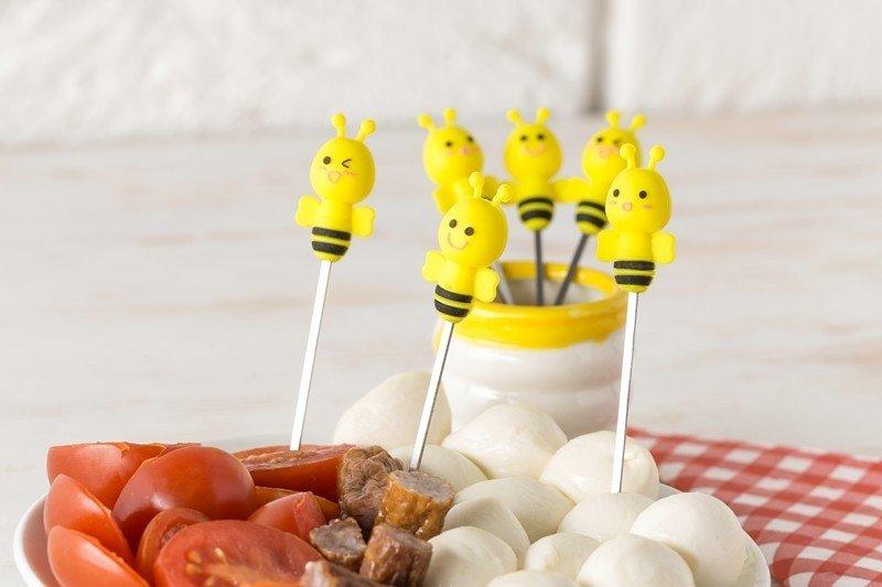 Vidličky včelky - sada 6ks