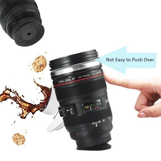 Antigravitační Hrnek objektiv Lens cup