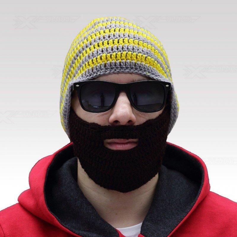 Beardo čepice s vousy