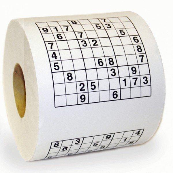 Toaletní papír SUDOKU