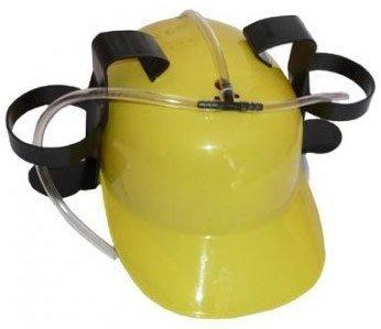 Pivní helma - žlutá
