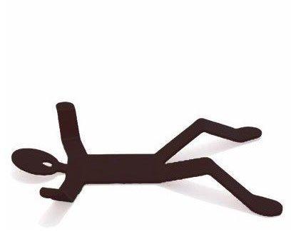 Držák na hrnce - Černá
