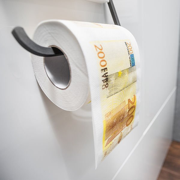 Toaletní papír 200 Euro XL