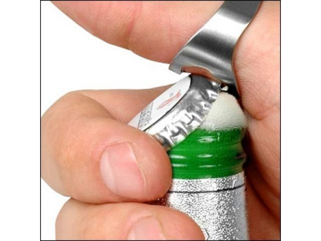 Prstenový otvírák lahví 2ks