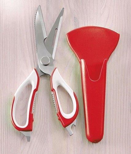 Víceúčelové kuchyňské nůžky 7v1