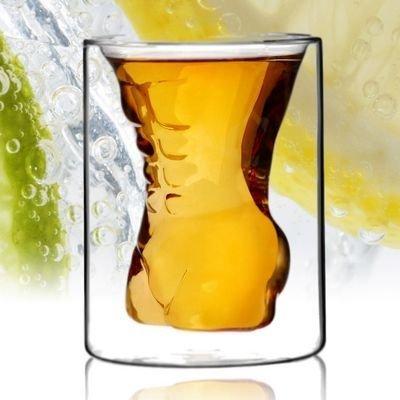 Svůdná sklenice muž