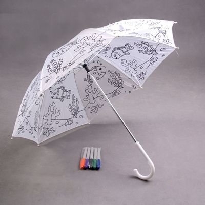 Deštník omalovánka