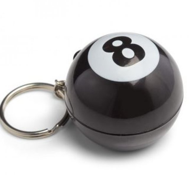 Mystic 8 Ball - přívěsek