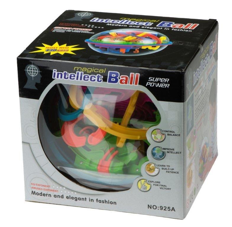 Hlavolam Intellect Ball 138 překážek