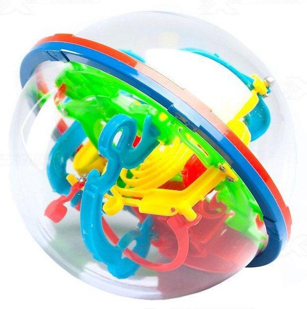 Hlavolam Intellect Ball 118 překážek