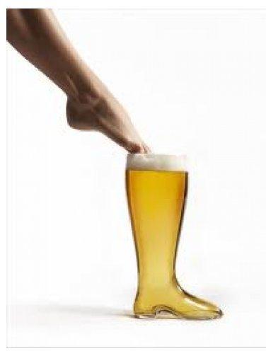 Obří sklenice Pivní bota