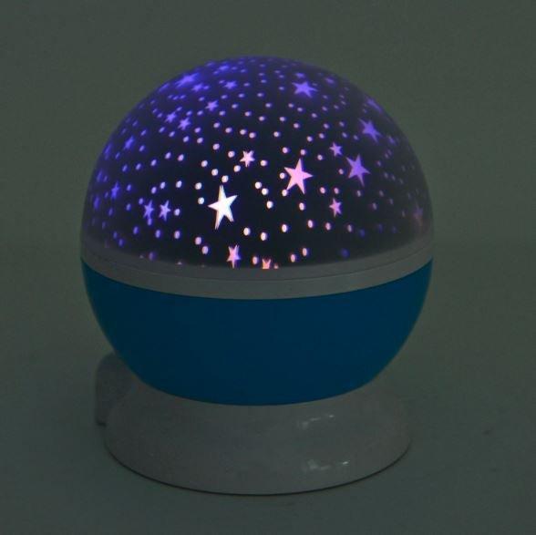 Projektor noční oblohy deluxe - Modrá