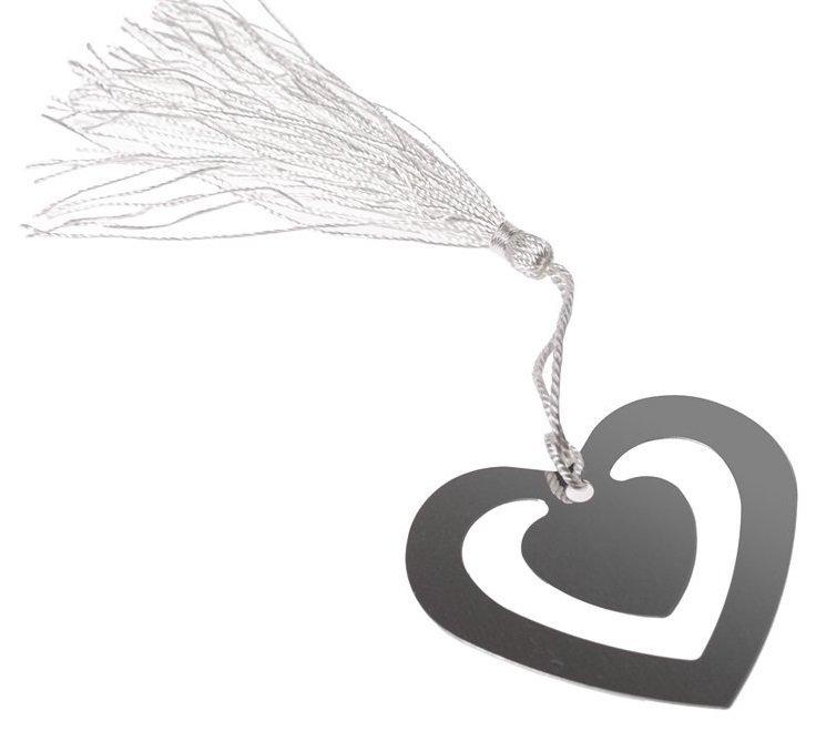 Záložka do knihy - srdce