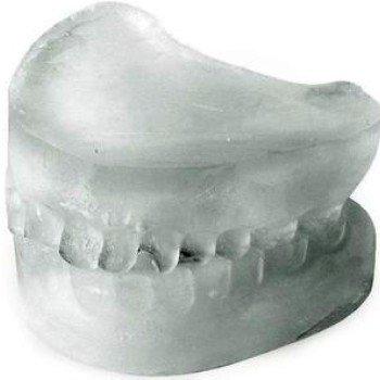 Ledové zubní protézy