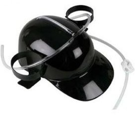 Pivní helma - Černá
