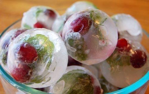 Ledové koule do nápojů - silikonová forma