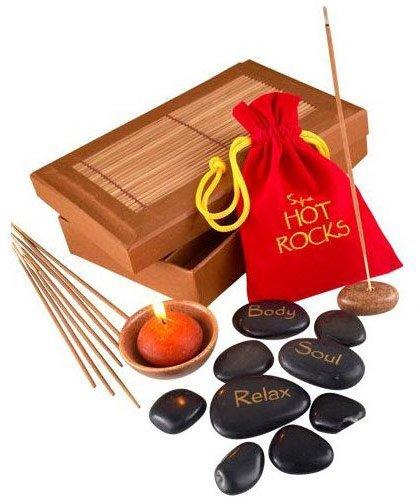 Horké kameny - dárkový set