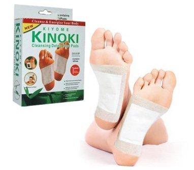 Detoxikační náplasti Kiyome Kinoki