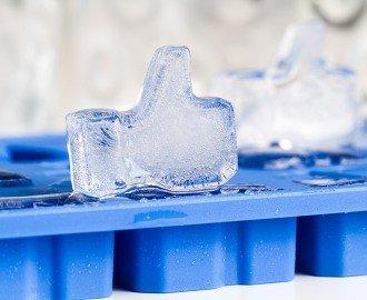 Ledový LIKE facebook