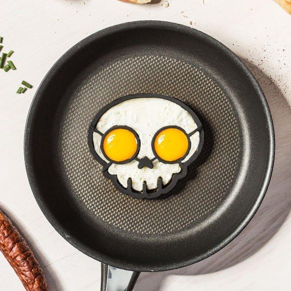 Silikonové formy na vajíčka - lebka