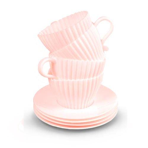 Formy na muffiny - pohár 4ks