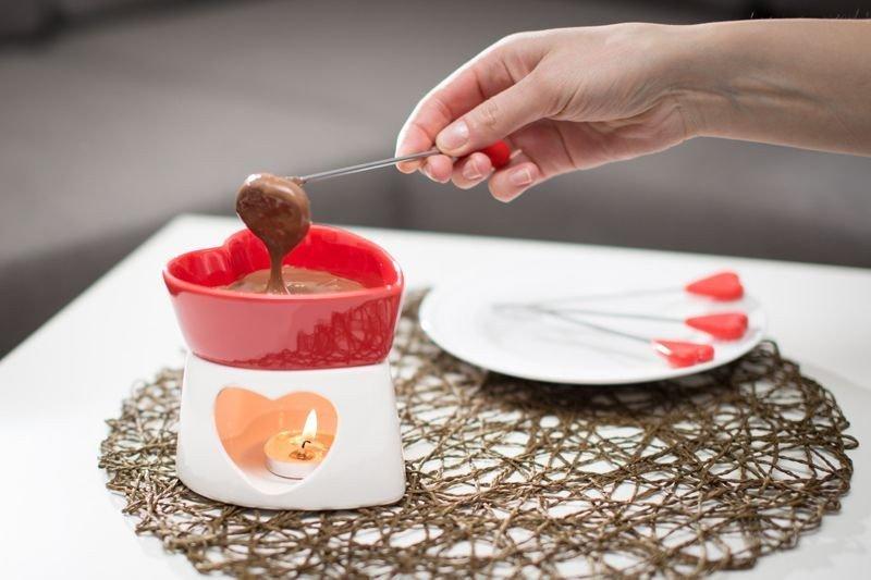 Romantické fondue