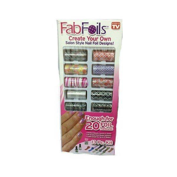Zdobící nehtové fólie FabFoils