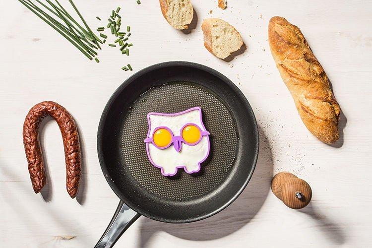 Silikonové formy na vajíčka - sova