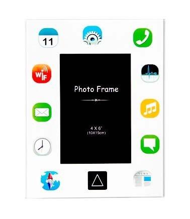 Fotorámeček iPad - bílý