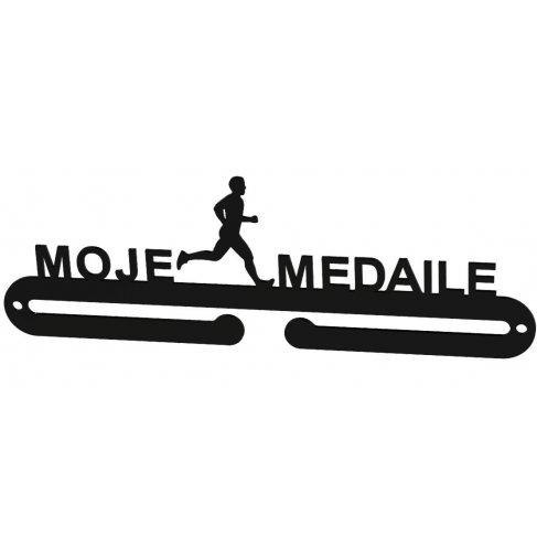 Věšák na medaile - Moje medaile muž